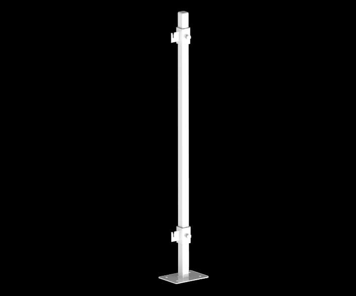 Кронштейн напольный для стальных радиаторов 500 мм