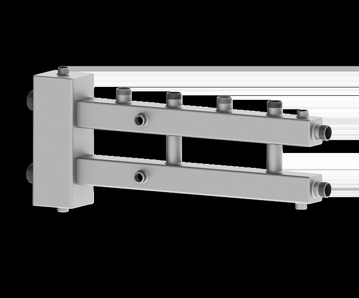 Гидрострелка совмещенная с коллектором Север М2+1 (Aisi)