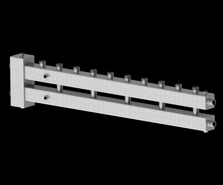 Гидрострелка совмещенная с коллектором Север М6