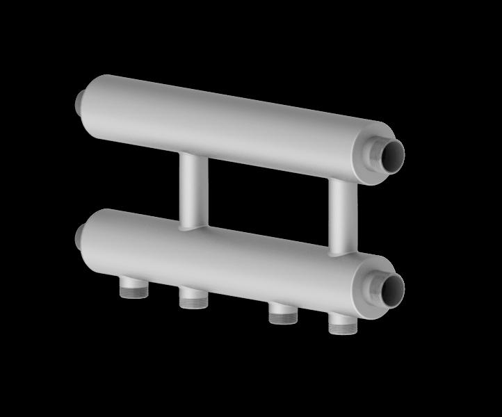 Каскадный узел горизонтального типа из нержавеющей стали Север R KUG