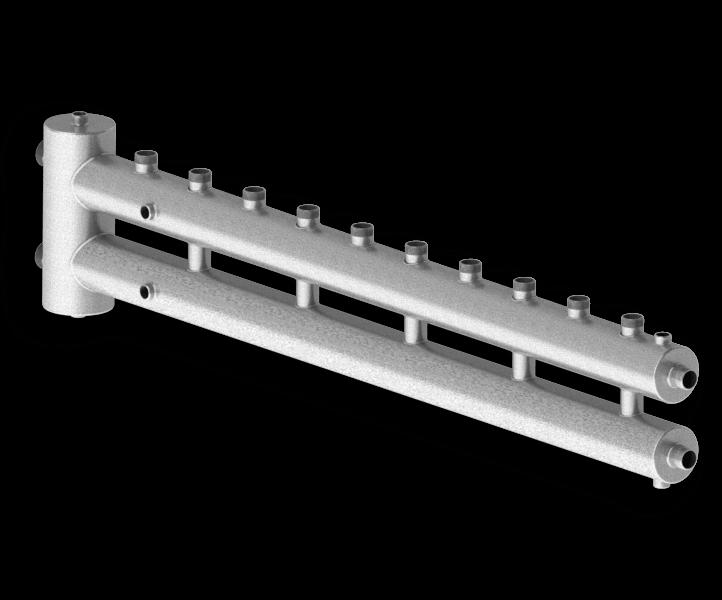 Гидрострелка совмещенная с коллектором Север R-М6