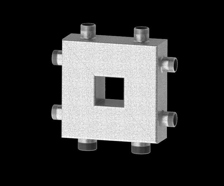Гидрострелка совмещенная с коллектором Север Компакт