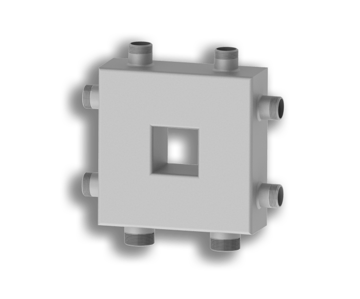 Гидрострелка совмещенная с коллектором Север Компакт (Aisi)