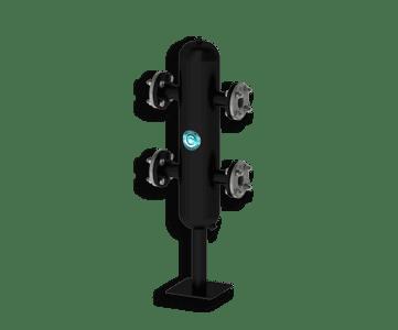 Гидрострелка Гидроразделитель Гидравлический разделитель повышенной мощности 180 кВт с фланцевым подключением ДУ 50