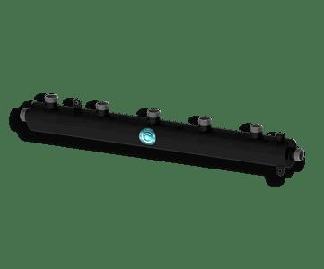 Гидрострелка Гидроразделитель Гидравлический коллектор универсальный на 5 выходов с муфтой для воздухоотводчика