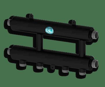 Гидрострелка Гидроразделитель Каскадный узел горизонтального типа Север R KUG
