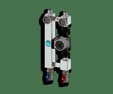 Гидрострелка Гидроразделитель Насосная группа прямая из нержавеющей стали Север P 25/60