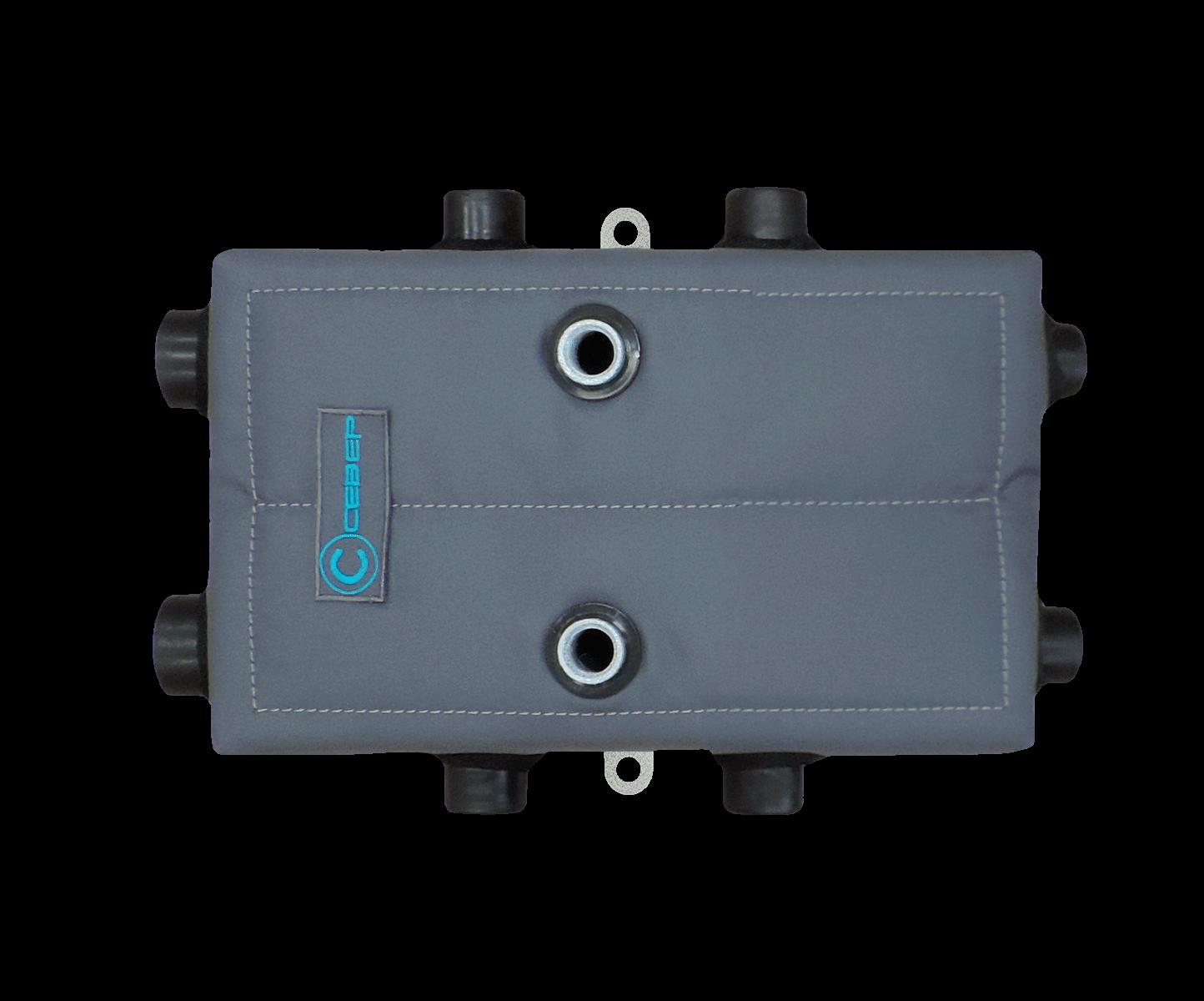 Гидрострелка Гидроразделитель Теплоизоляционный чехол Север КМ3