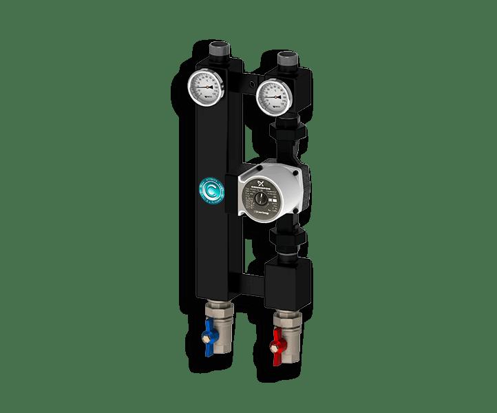 Гидрострелка Гидроразделитель Насосная группа прямая Север P 2560