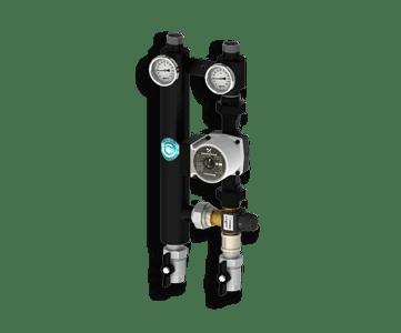 Гидрострелка Гидроразделитель Насосная группа с термостатическим смесительным клапаном Север R TS 25/60
