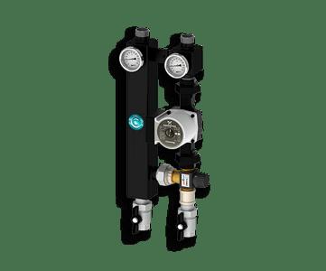 Гидрострелка Гидроразделитель Насосная группа с термостатическим смесительным клапаном Север S 2560