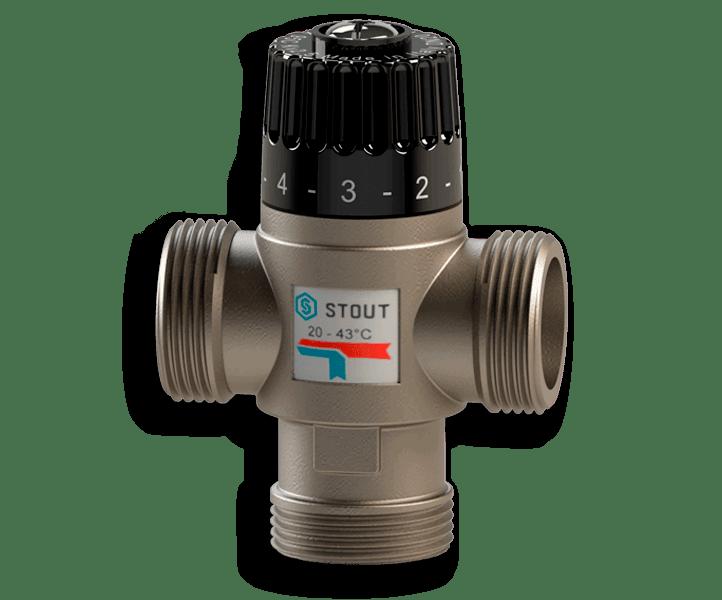 Гидрострелка Гидроразделитель Термостатический смесительный клапан STOUT