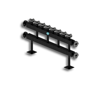 Гидрострелка Гидроразделитель Гидравлический коллектор повышенной мощности с фланцевым подключением