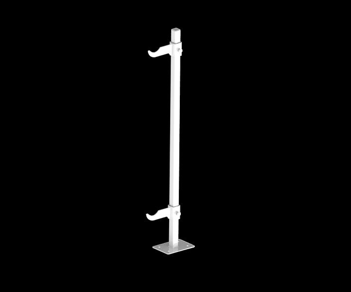Гидрострелка Гидроразделитель Кронштейн напольный для алюминиевых и биметаллических радиаторов 500 мм