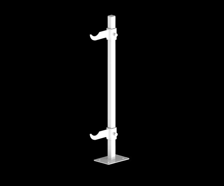 Гидрострелка Гидроразделитель Кронштейн напольный для алюминиевых и биметаллических радиаторов 350 мм