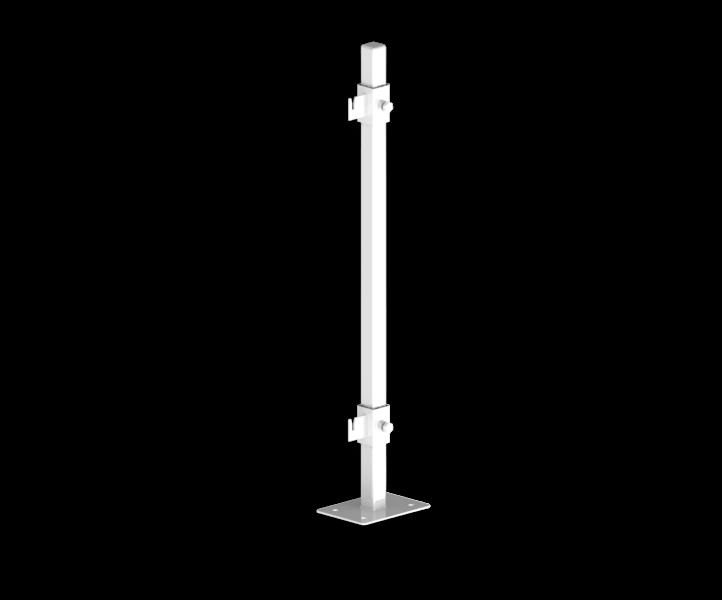 Гидрострелка Гидроразделитель Кронштейн напольный для стальных радиаторов 350 мм