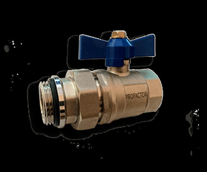 Гидрострелка Гидроразделитель Кран шаровой с полусгоном ProFactor