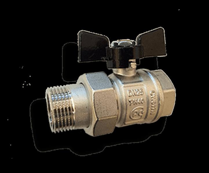 Гидрострелка Гидроразделитель Кран с разъёмным соединением Bugatti
