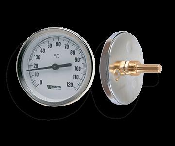 Гидрострелка Гидроразделитель Термометр биметаллический с погружной гильзой Watts