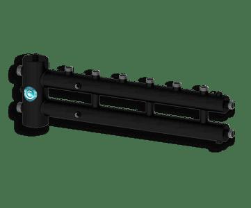 Гидрострелка Гидроразделитель Гидравлический разделитель совмещенный с коллектором на 4 контура 70 кВт