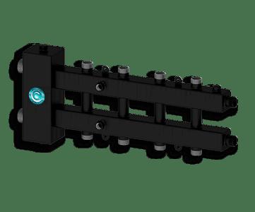 Гидрострелка Гидроразделитель Гидравлический разделитель совмещенный с коллектором на 5 контуров 70 кВт